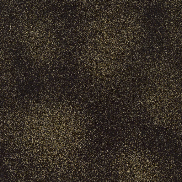 Thankful Collection by Timeless Treasures - Shimmer - Black - Yardage - Daz Fabrics