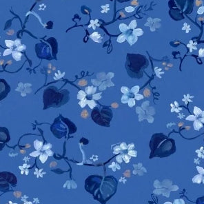 Blue Crush Collection by August Wren - Fall Vines - Yardage - Daz Fabrics