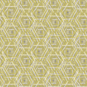 Tapestry Collection by Sharon Holland - Tracery Ochre - Yardage - Daz Fabrics
