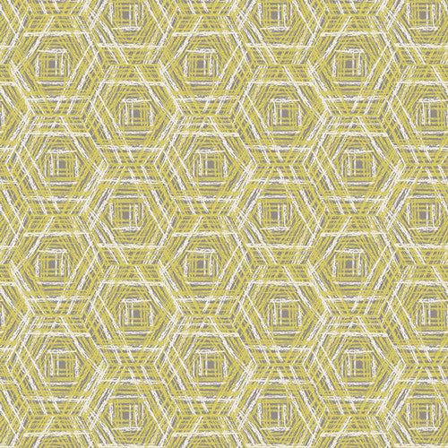 Tapestry Collection by Sharon Holland - Tracery Ochre - Yardage