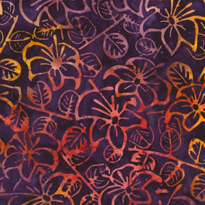 Tonga Dragonfly Collection - Luau Batik Gypsy - Yardage - Daz Fabrics