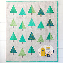 Up North Quilt Pattern by Pen+Paper Patterns - Pattern T71 - Daz Fabrics