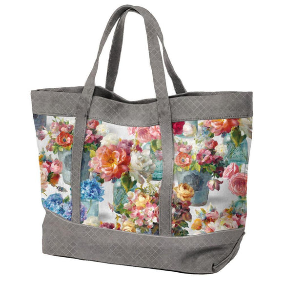 Tote Bag Pattern by Wilmington Prints - Click Link (IN RED) Below to Receive Free Pattern - Daz Fabrics