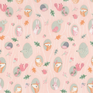 Kidz by Timeless Treasures - Blush Sweet Woodland - Yardage - Daz Fabrics