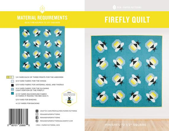 Firefly Quilt Pattern by Pen+Paper Patterns - Pattern
