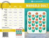 Marigold Quilt Pattern by Pen+Paper Patterns - Pattern - Daz Fabrics