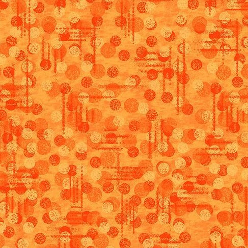 Jot Dot - Texture Tonal Orange - Y1081 - Daz Fabrics