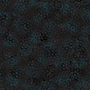 Pollinator Collection by Leslie Tucker Jenison - Pollinator Pods Back to Black - Y2006 - Daz Fabrics