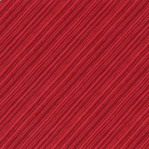 Summertime Collection by Wilmington Prints - Diagonal Stripes Red - Y152 - Daz Fabrics