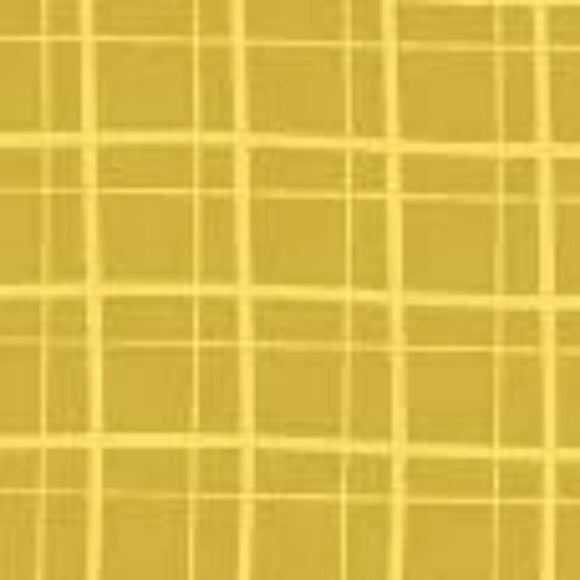 My Cup of Tea by Windham Fabrics - Playful Plaid Chamomile - Y209 - Daz Fabrics