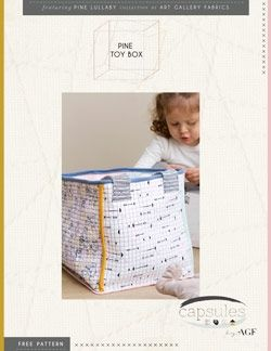 Toy Box Instructions - Click on RED LINK in Product Description, below Paypal button,  to receive pattern - Daz Fabrics
