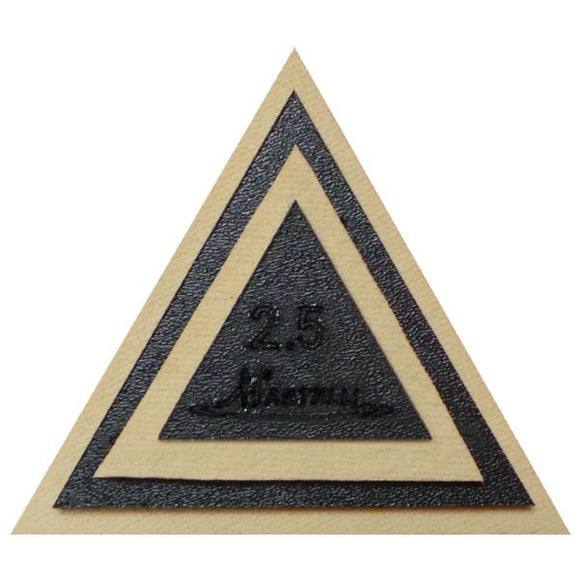 Martelli Notions - Small Triangle Template - 2.5
