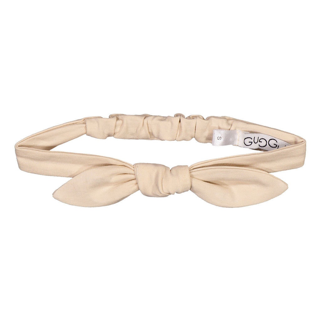 gugguu Bow Band Hair accessories Linen Beige S