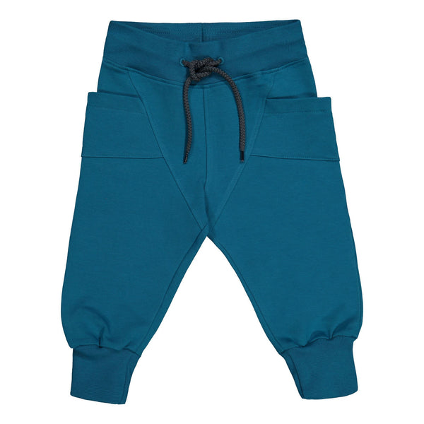 gugguu College Baggy Pants Ocean 80/1Y