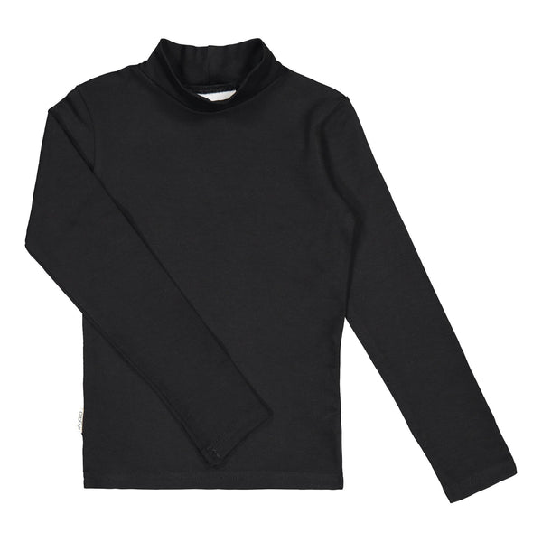 gugguu Half Turtleneck Shirts Black 80