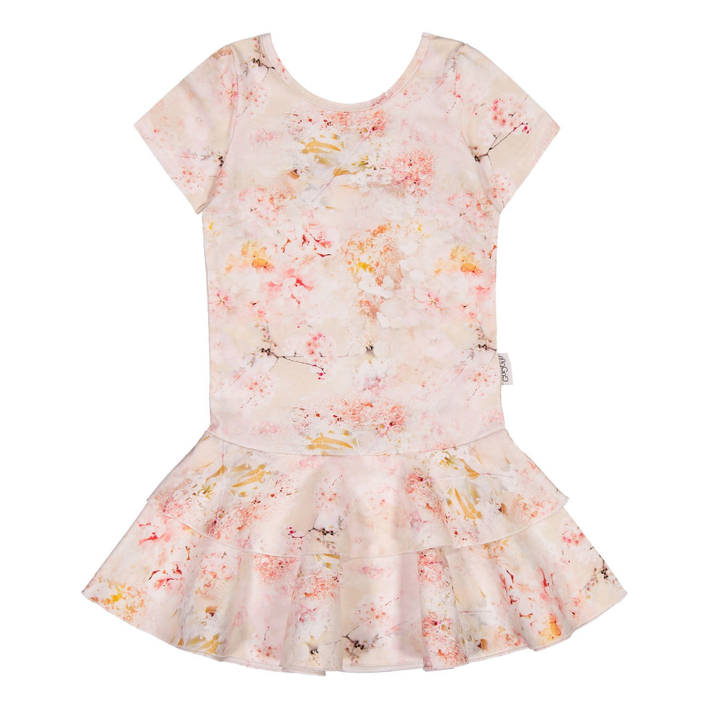 gugguu Print Frilla T-shirt Dress Dresses Dreamy Flower 80