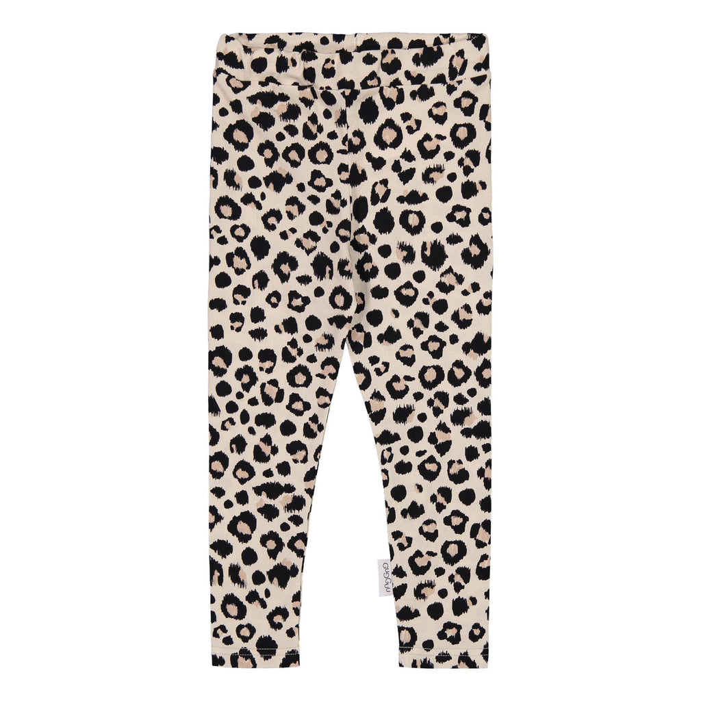 gugguu Print Leggings Leggings Ginger Leopard 80