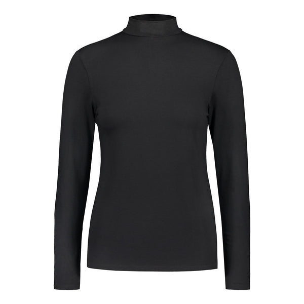 gugguu Women's Half Turtleneck Women's tops Black XXS