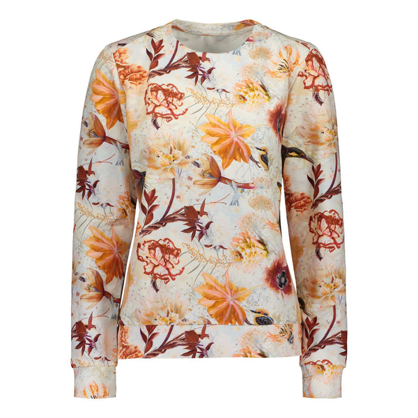 gugguu Women's Print Sweatshirt Women's tops Hummingbirds XXS
