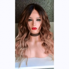 Brown gradient wig
