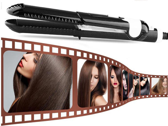 80% OFF SILKY SALON SMOOTH HAIR Professional Hair Straightener