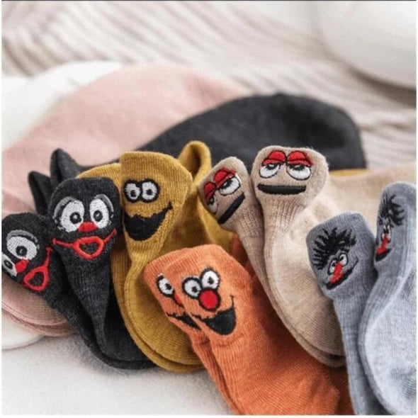 Embroidered Cartoon Women Socks (70% Off Today)