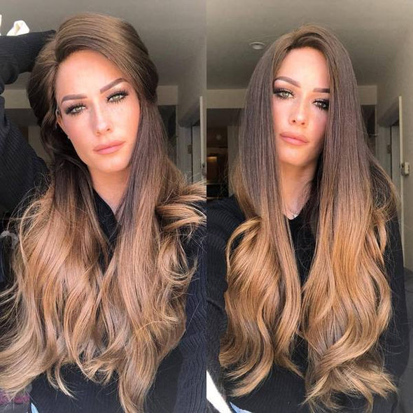 Wish NEW Brown wig straight long hair