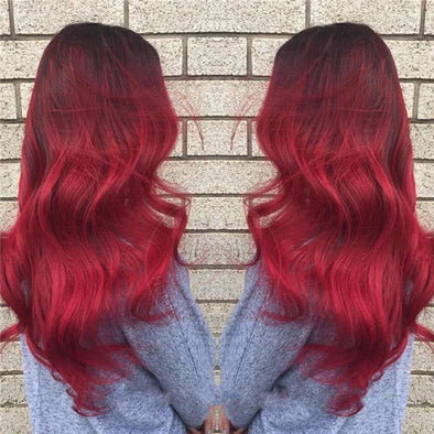 Gradient Red Wig