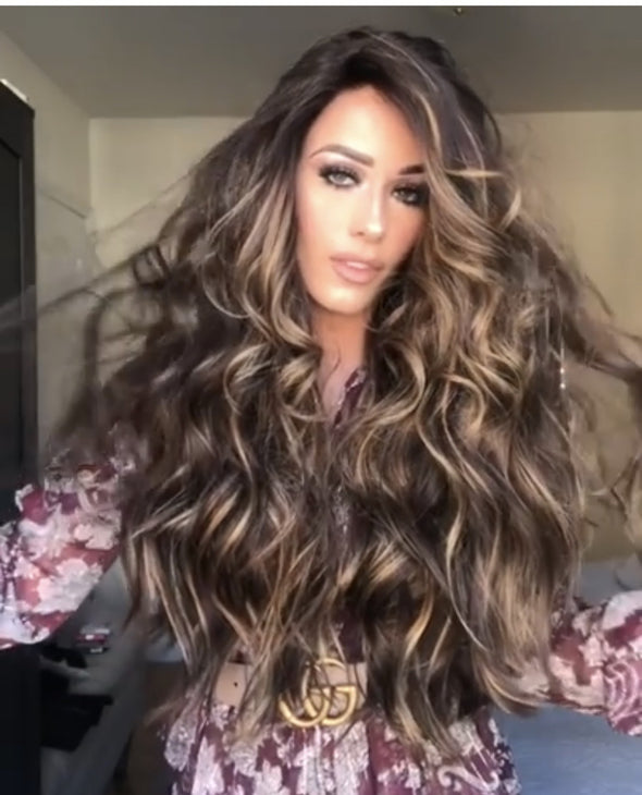 New Brown  Wavy Wig