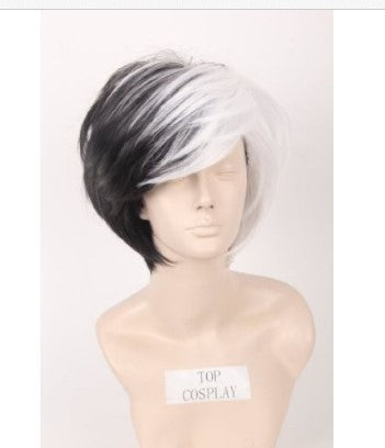 Carlos Cosplay Fashion Men's Bob Wig Short Hair