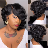 Best Black short wigs Bob hair