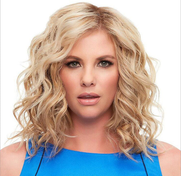 Wave Golden Wig Short Hair