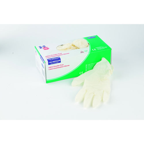 Handsafe Powder-Free Latex Gloves