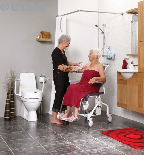Etac-Swift-Mobile-Shower-Commode-Chair Etac Swift Mobile Shower Commode Chair