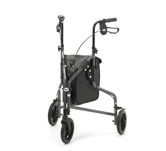 Quartz Days Lightweight Aluminium Tri Wheel Walker