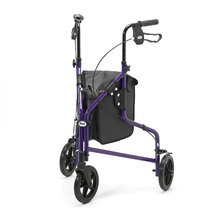 Days Lightweight Purple Three Wheel Walker