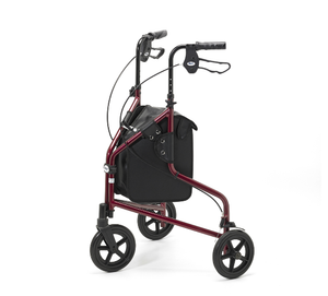 Days Ruby Red Lightweight Tri Walker Rollator