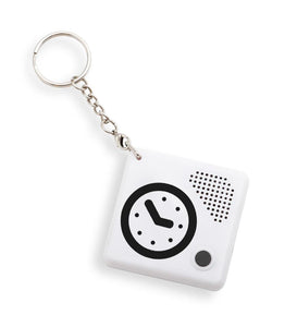 Talking Time Pal Keychain