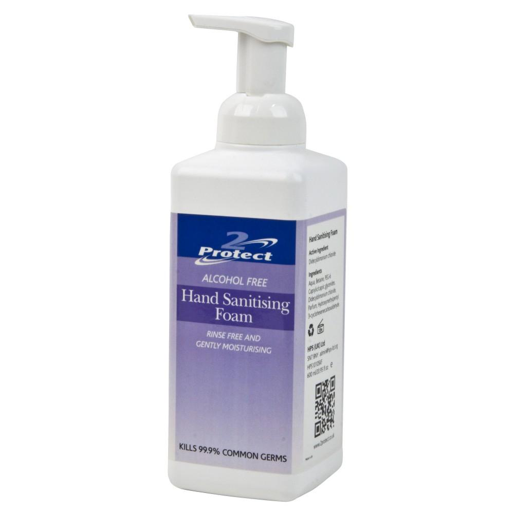 2Protect-Hand-Sanitising-Foam---600ml 2Protect Hand Sanitising Foam - 600ml