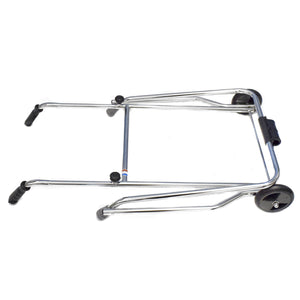 Folding Zimmer Walking Frame with 2 Wheels