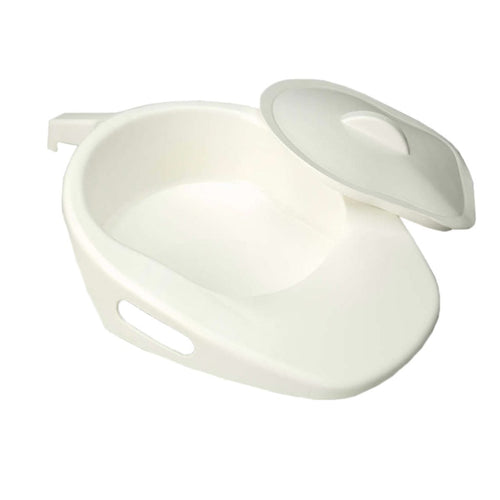 Bed Fracture Pan with Lid