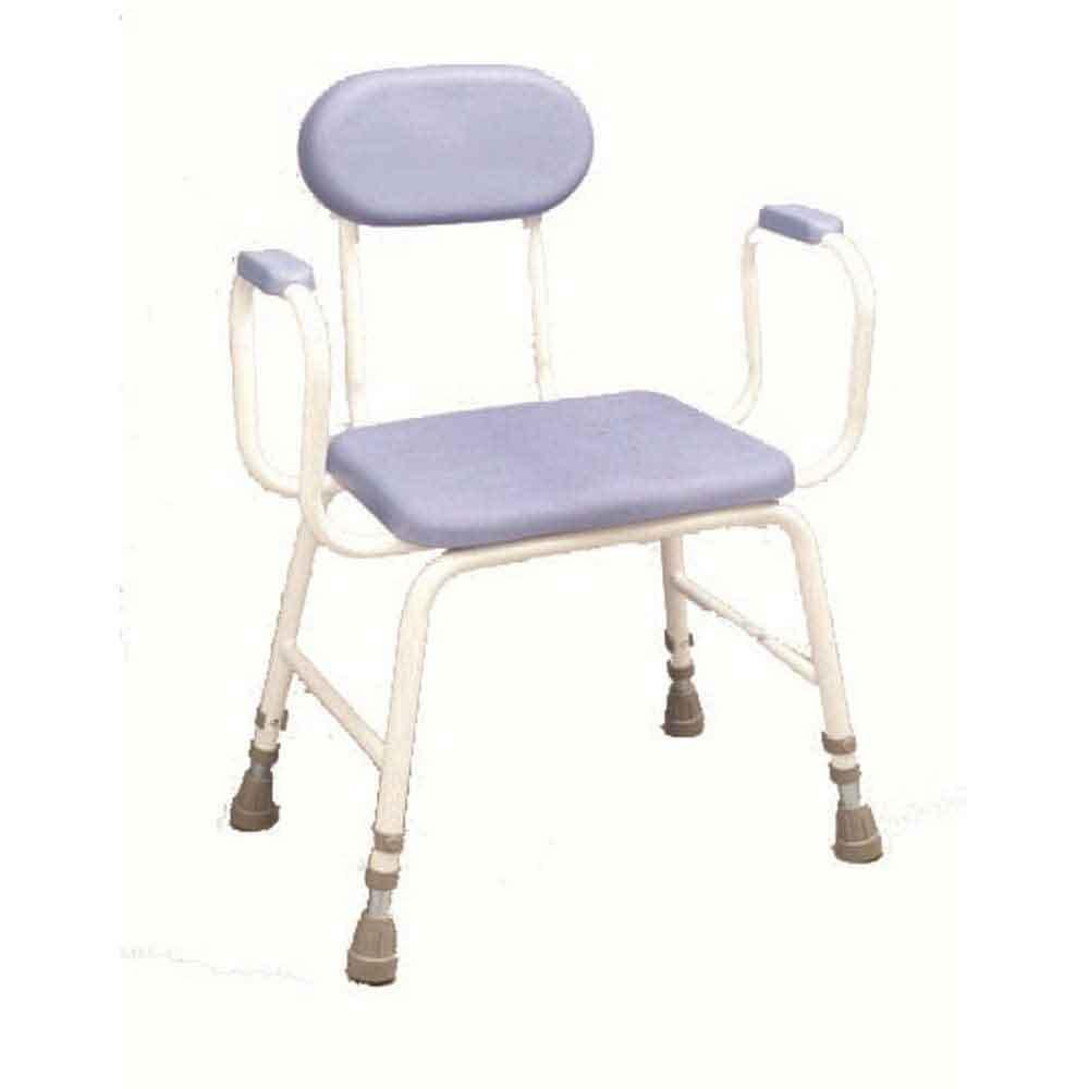 Extra Low Padded Perching Stool