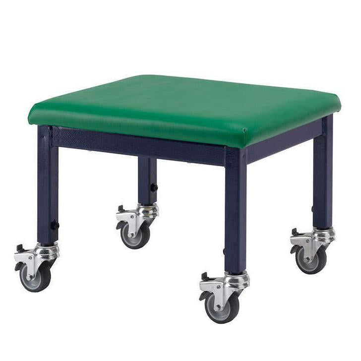 Mobile Stool Green/blue