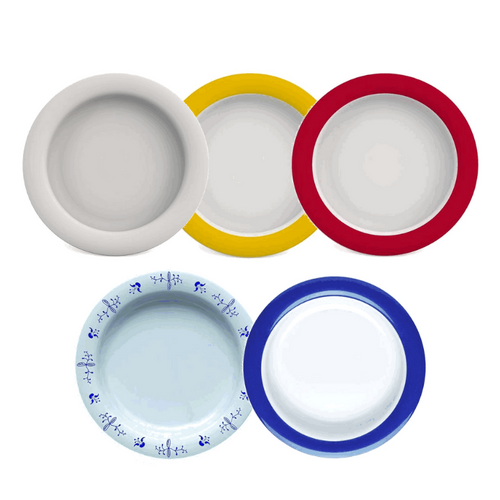 Dinner Plate with Sloped Base