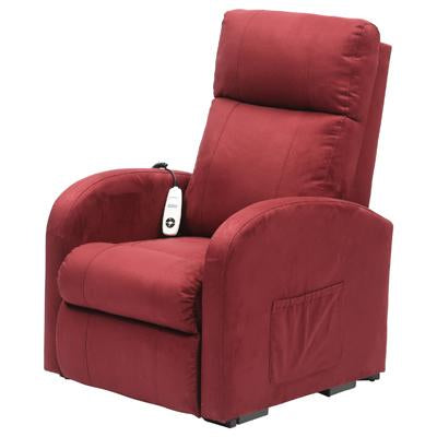 Daresbury Suedette Single Motor Rise & Recline Chair