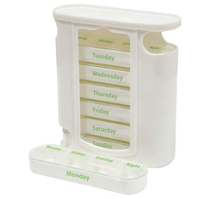 Stacked Weekday Pill Dispenser