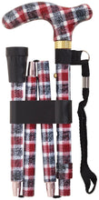 Deluxe Folding Patterened Walking Canes