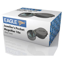 Eagle Jewellers Pocket Magnifier 10x Magnification