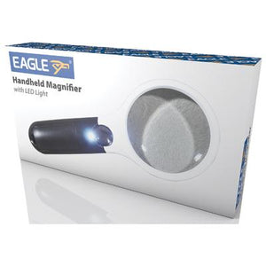 Eagle Handheld Magnifier with LED Light