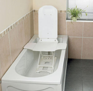 Bathmaster-Deltis-Bathlift Complete with Blue Covers
